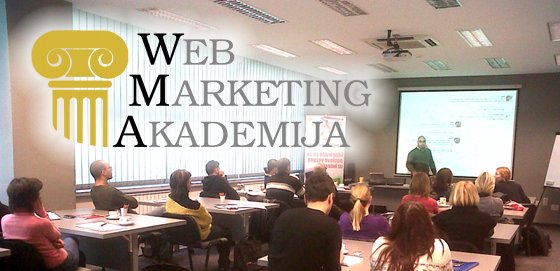 Učionica Web Marketing Akademije - WMA